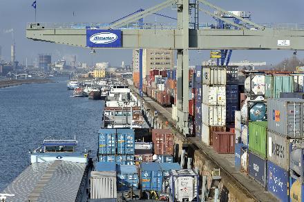 Metropol: Der Container-Bereich im Mannheimer Hafen wird weiter ausgebau