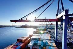 Containerumschlag Bremerhafen45